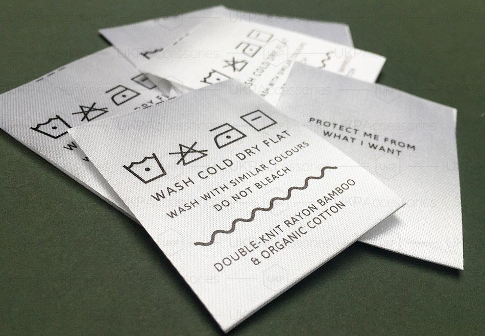 This is an image of Mesmerizing Fabric Care Labels Uk