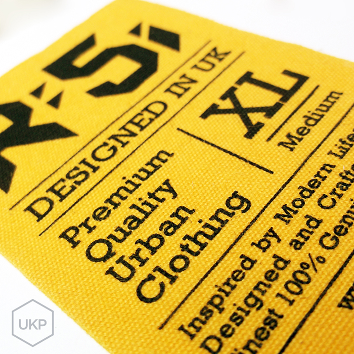 Printed Cotton Label