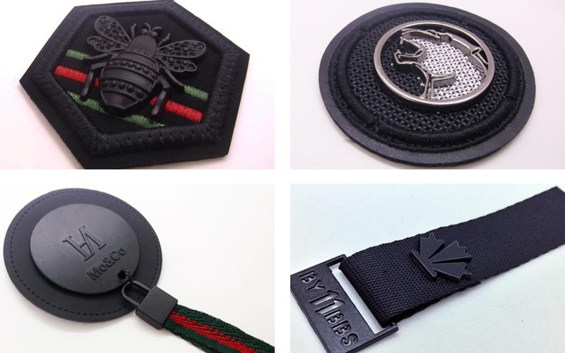 Custom badges & trims